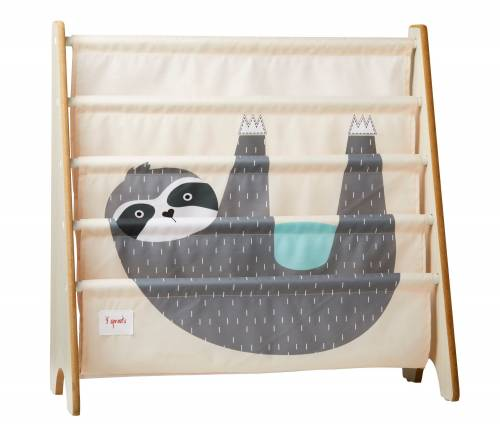 3 SPROUTS Book Rack - Sloth