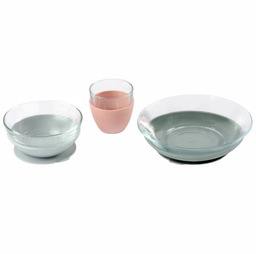 BEABA Glass Meal Set - Eugalyptus