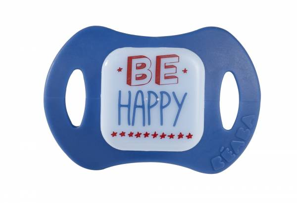 BEABA Soother x 2 Silicon 1st age Boys - Happy Cool