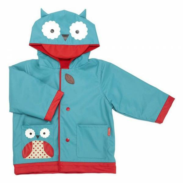 SKIP HOP Zoo Raincoat Owl Size 3-4