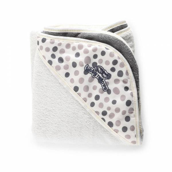 BabyToLove Towel White - Taupe