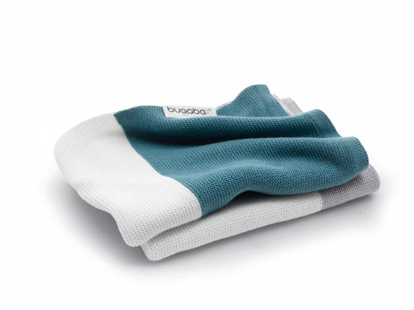 BUGABOO Light Cotton Blanket - Petrol Blue
