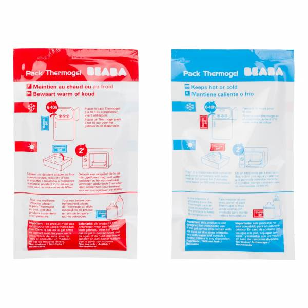 BEABA Thermogel Cool Warm bags x 2