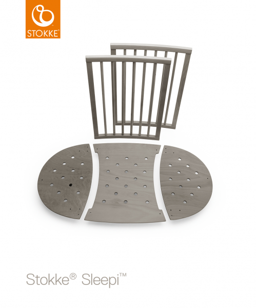 STOKKE Sleepi Bed Extension - Hazy Grey