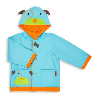 SKIP HOP Zoo Raincoat Dog Size 5-6
