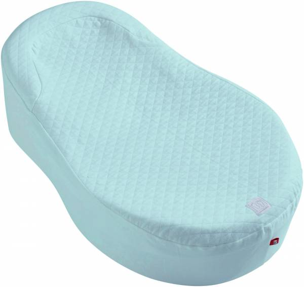 Cocoonababy Fitted Sheet - Powder Blue
