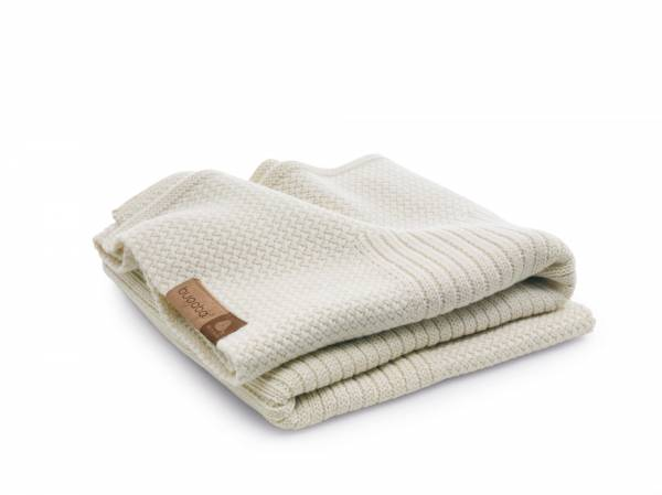 BUGABOO Wool Blanket - Off White Melange