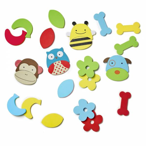 SKIP HOP Bath Zoo Mix & Match Foam Pals