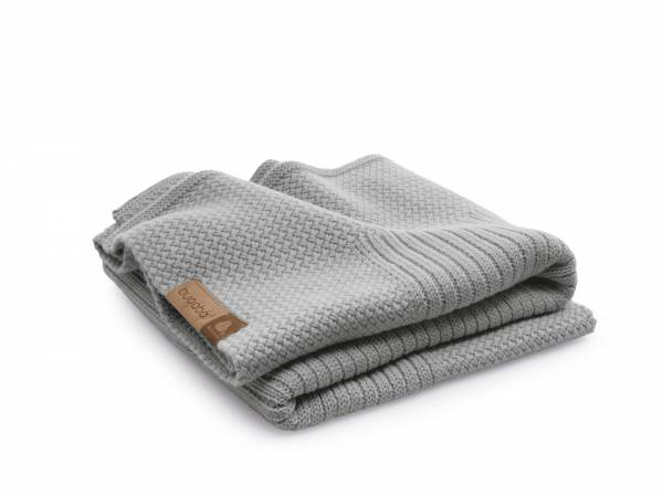 BUGABOO Wool Blanket - Light Grey Melange