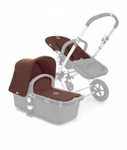 BUGABOO Cameleon Fabric Set 3PCS - Dark Brown