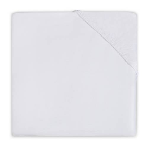 JOLLEIN Fitted Sheet Jersey 40x90 - White