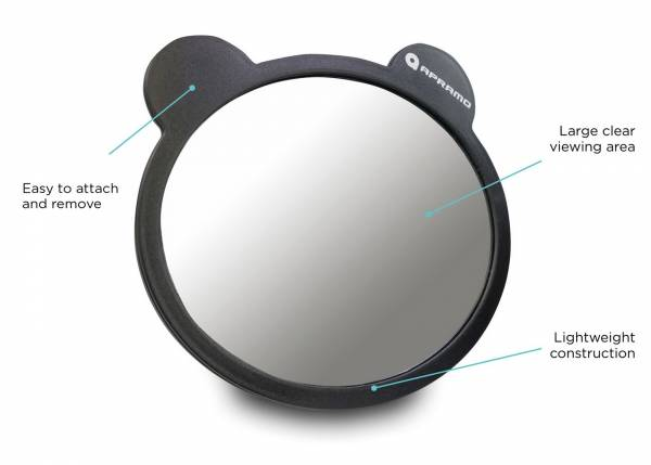 APRAMO Baby Mirror With Ears