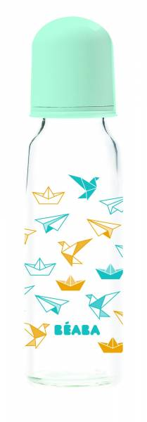 BEABA bottle Glass 250ml - Origami