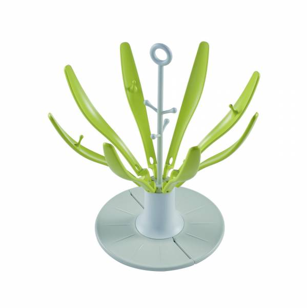 BEABA Bottle Flower Draining Rack Foldable - Neon
