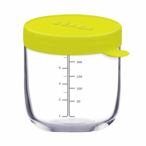 BEABA Food Jar Glass 250 ml - Neon