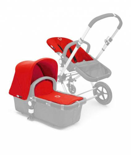 BUGABOO Cameleon Fabric Set 3PCS Red