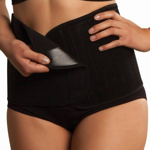 CARRIWELL Belly Binder Black S/M