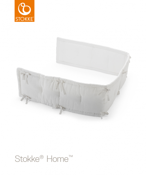 STOKKE Home Bed Half Bumper - White
