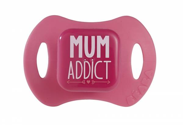 BEABA Soother x 2 Silicon 2nd age Girls - Mum Dream