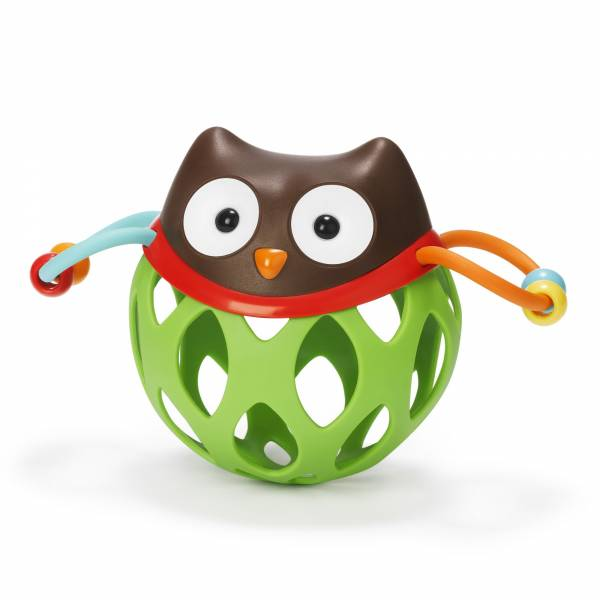 SKIP HOP Explore&More Roll Around Rattle - Owl