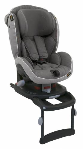 BE SAFE iZi Comfort Isofix Metallic Melange