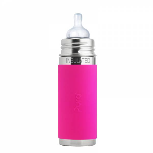 PURA Bottle Insulated 260ml Pink