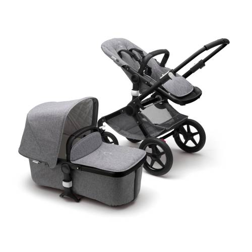 BUGABOO Fox Classic Complete Black - Grey Melange