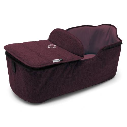 BUGABOO Fox Carrycot Tailored Fabric Set - Red Melange